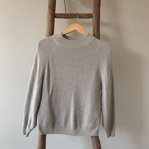 🍀 Lucky Mock Neck Sweater